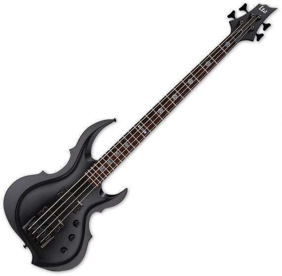 ESP LTD Tom Araya TA-204 FRX Electric Bass Black Satin B-Stock LTA204FRXBLKS.B