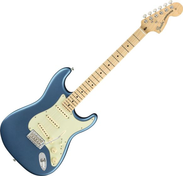 Fender American Performer Stratocaster Electric Guitar in Satin Lake Placid Blue 0114912302
