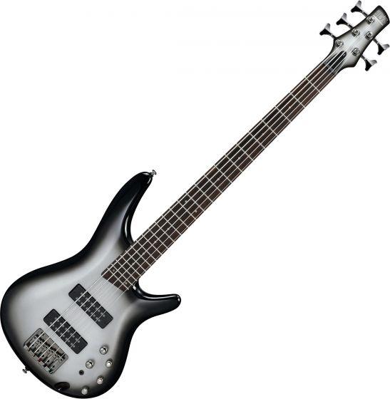 Ibanez SR Standard SR305E 5 String Electric Bass Metallic Silver Sunburst SR305EMSS