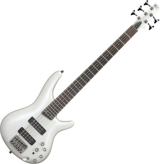 Ibanez SR Standard SR305E 5 String Electric Bass Pearl White SR305EPW