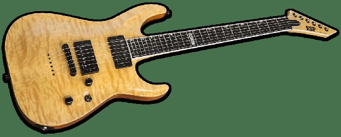 ESP USA Horizon-II Electric Guitar in Vintage Natural EMG EUSHORIIVNATE