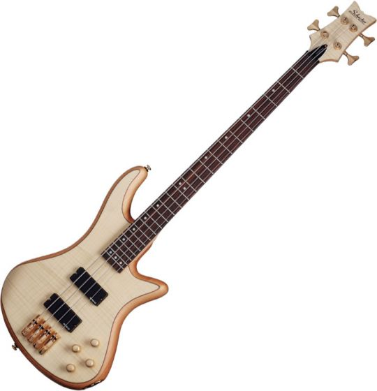 Schecter Stiletto Custom-4 Electric Bass Gloss Natural sku number SCHECTER2531