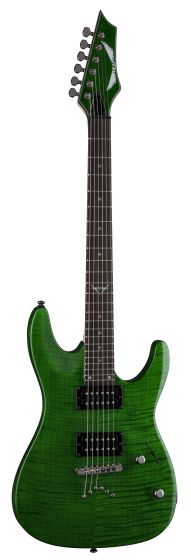 Dean Custom 350 Trans Green Electric Guitar C350 TGR C350 TGR