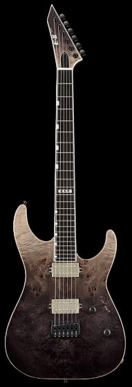 ESP E-II M-II NT Black Natural Fade Electric Guitar w/Case EIIMIINTHSBLKNFD