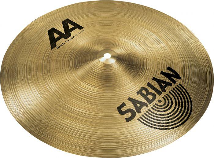 """Sabian 16"""" AA Rock Crash 21609"""