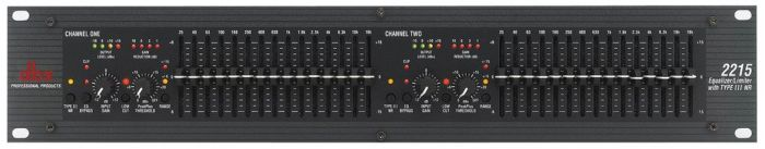 dbx 2215 Graphic Equalizer/Limiter with Type III DBX2215V