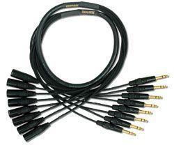 Mogami Gold 8 TRS-XLRM Cable 20 ft. GOLD 8 TRSXLRM-20