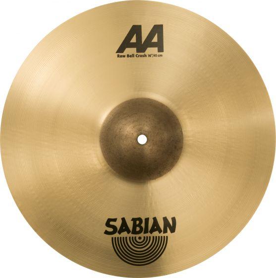 """Sabian 16"""" AA Raw Bell Crash 2160772"""