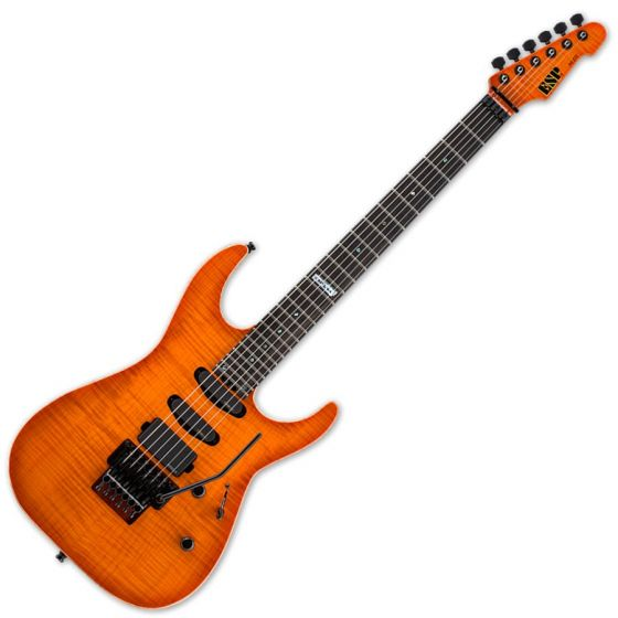 ESP USA M-III EMG Electric Guitar in Copper Sunburst EUSMIIIEMGCSBE