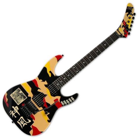 ESP Kamikaze-1 George Lynch Guitar with Case sku number EGLK1
