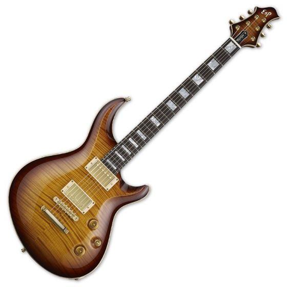 ESP Mystique CTM Original Series Electric Guitar in Tea Sunburst EMYSTCTMTEASB