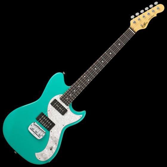 G&L Fallout USA Custom Made Guitar in Belair Green sku number 104991