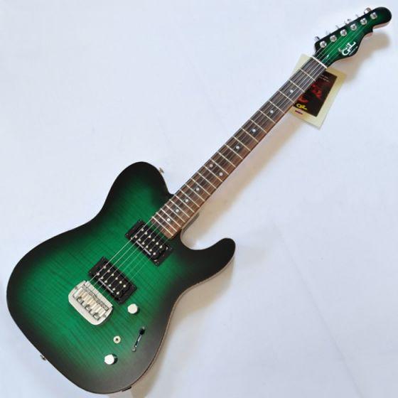 G&L ASAT Deluxe USA Custom Made Guitar in Greenburst sku number 105037
