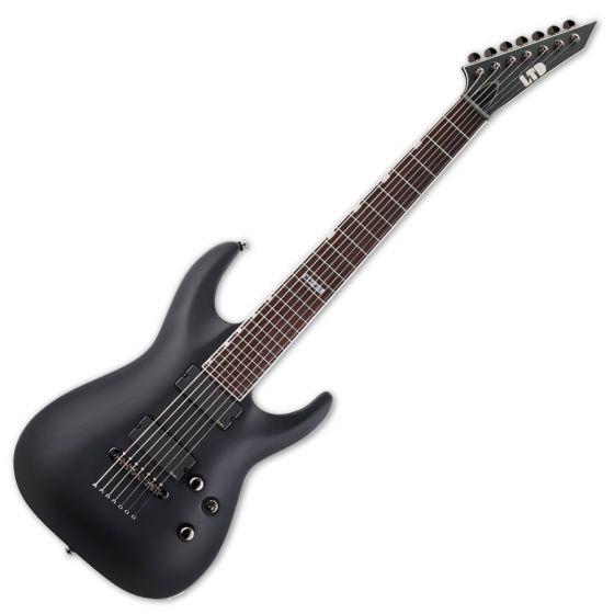 ESP LTD MH-417 Guitar in Black Satin B stock LMH417BLKS.B