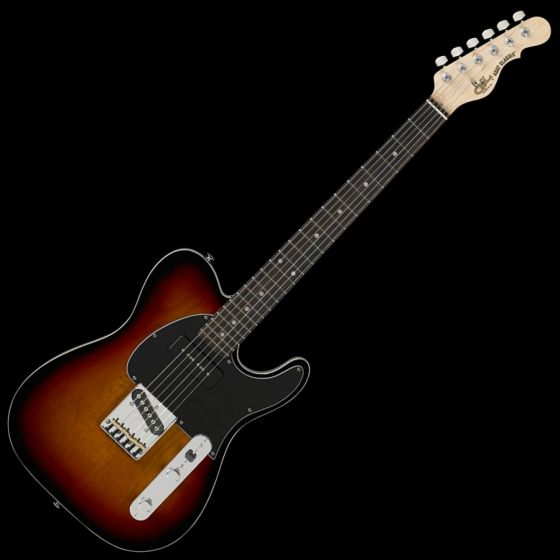 G&L ASAT Classic Bluesboy 90 USA Custom Made Guitar in 3 Tone Sunburst 107780