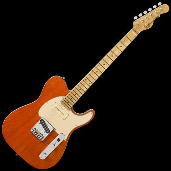 G&L ASAT Classic Bluesboy 90 USA Custom Made Guitar in Clear Orange sku number 107782