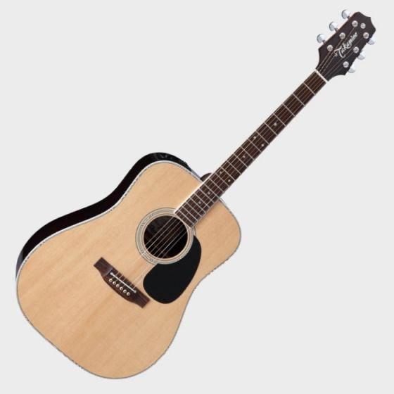 Takamine Signature Series EF360GF Glenn Frey Acoustic Guitar in Natural Finish TAKEF360GF