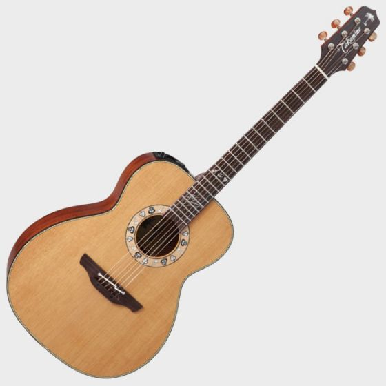 Takamine Signature Series KC70 Kenny Chesney Acoustic Guitar in Natural Finish sku number TAKKC70