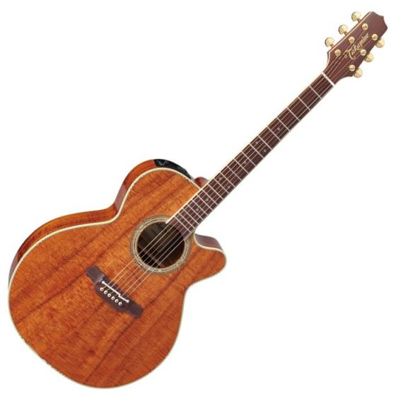 Takamine EF508KC Legacy Series Acoustic Guitar in Natural Gloss Finish sku number TAKEF508KC