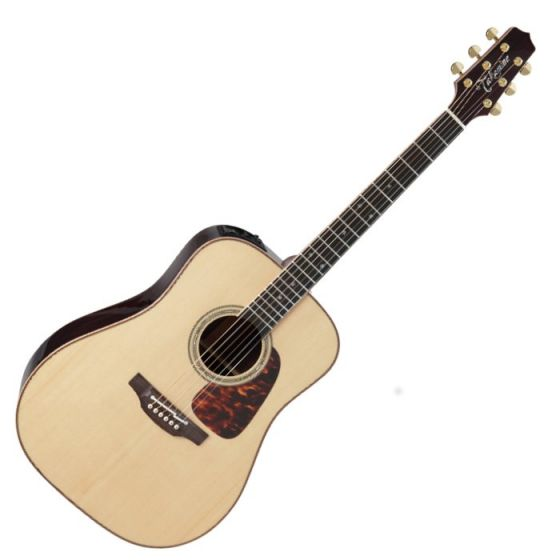Takamine P7D Pro Series 7 Acoustic Guitar in Natural Gloss Finish sku number TAKP7D