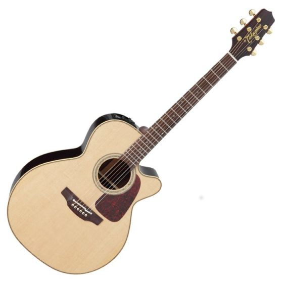 Takamine P5NC Pro Series 5 Cutaway Acoustic Guitar in Natural Gloss Finish sku number TAKP5NC