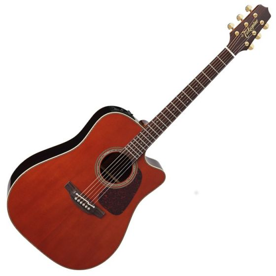 Takamine P5DC-WB Pro Series 5 Cutaway Acoustic Guitar in Whiskey Brown Finish TAKP5DCWB