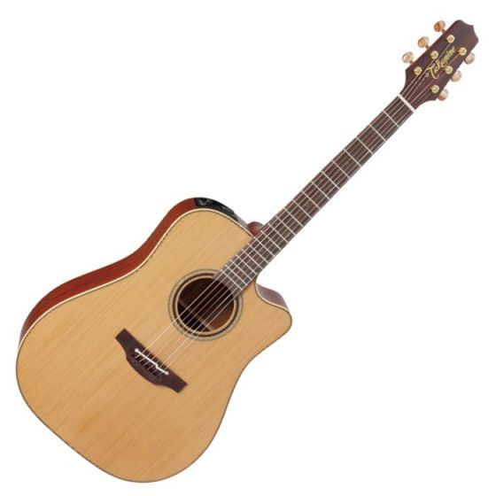 Takamine P3DC Pro Series 3 Cutaway Acoustic Guitar in Satin Finish sku number TAKP3DC