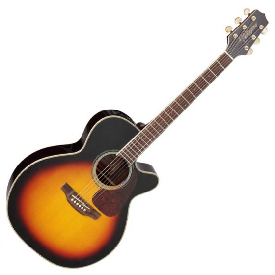 Takamine GN71CE-BSB G-Series G70 Acoustic Guitar in Brown Sunburst Finish sku number TAKGN71CEBSB