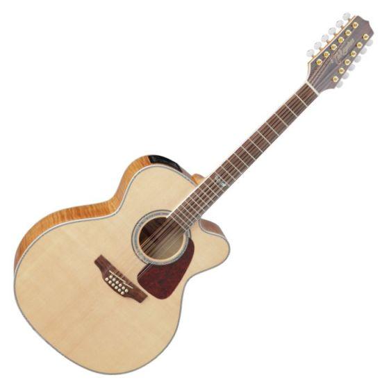Takamine GJ72CE-12NAT G-Series G70 12 String Acoustic Guitar in Natural Finish sku number TAKGJ72CE12NAT