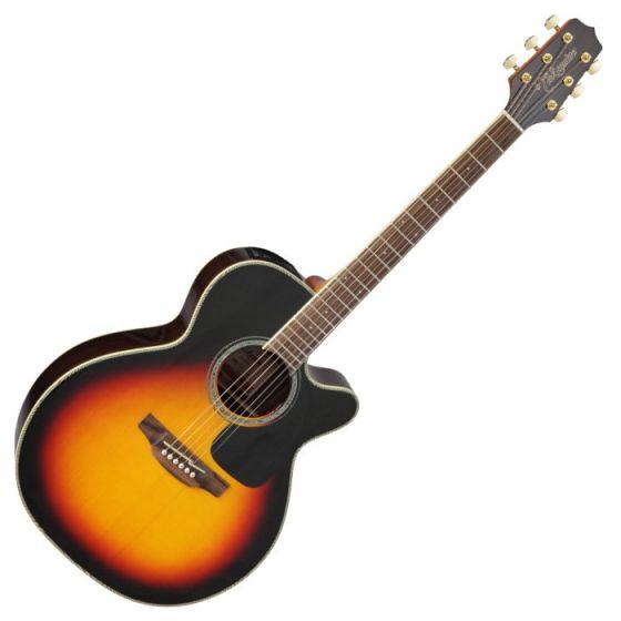 Takamine GN51CE-BSB Acoustic Electric Guitar in Brown Sunburst Finish sku number TAKGN51CEBSB