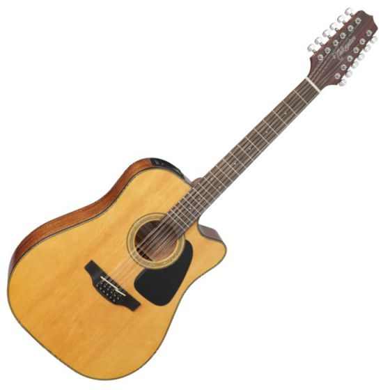 Takamine GD30CE-12NAT G-Series G30 12 String Acoustic Electric Guitar in Natural Finish sku number TAKGD30CE12NAT