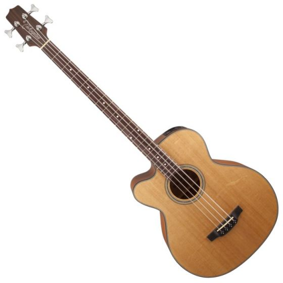 Takamine GB30CELH-NAT G-Series Left Handed Acoustic Electric Bass in Natural Finish sku number TAKGB30CELHNAT