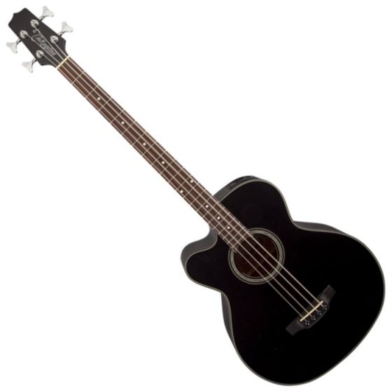 Takamine GB30CELH-BLK G-Series Left Handed Acoustic Electric Bass in Black Finish sku number TAKGB30CELHBLK