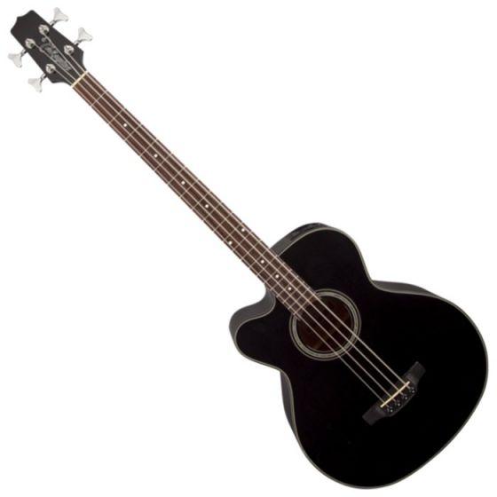 Takamine GB30CELH-BLK G-Series Left Handed Acoustic Electric Bass in Black Finish TAKGB30CELHBLK