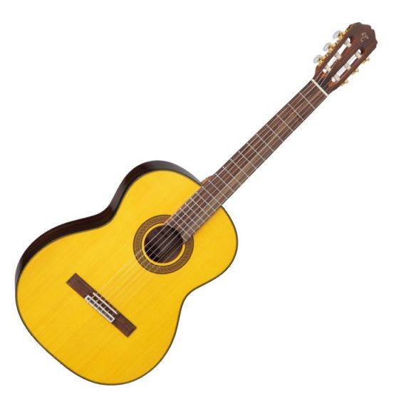Takamine GC5-NAT G-Series Classical Guitar in Natural Finish sku number TAKGC5NAT