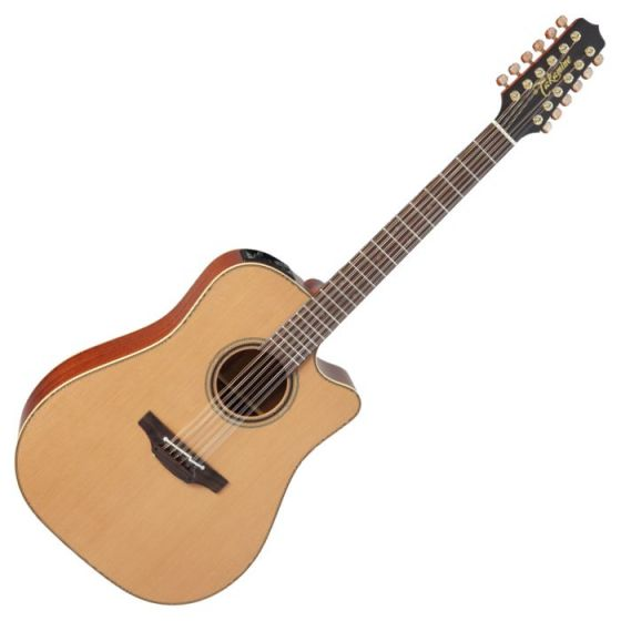 Takamine P3DC-12 Pro Series 3 Cutaway 12 String Acoustic Electric Guitar in Satin Finish sku number TAKP3DC12
