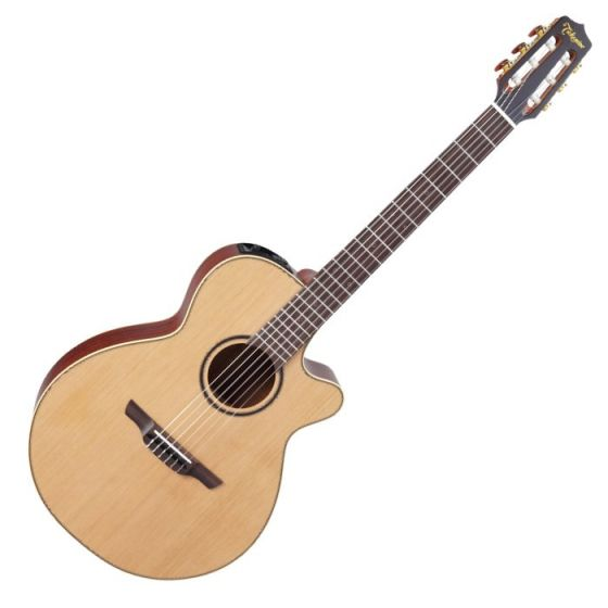 Takamine P3FCN Pro Series 3 Nylon Acoustic Electric Guitar in Satin Finish sku number TAKP3FCN