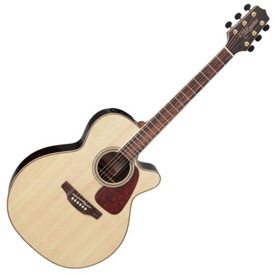 Takamine GN93CE-NAT G-Series G90 Cutaway Acoustic Electric Guitar in Natural Finish sku number TAKGN93CENAT