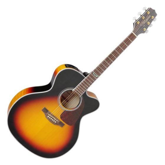 Takamine GJ72CE-BSB G-Series G70 Cutaway Acoustic Electric Guitar in Brown Sunburst Finish TAKGJ72CEBSB
