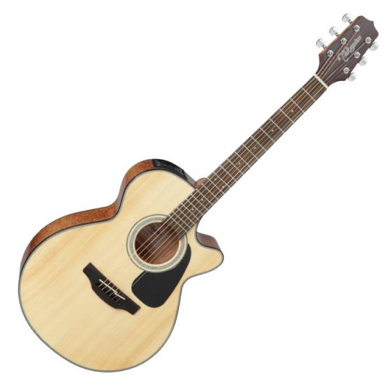 Takamine GF30CE-NAT G-Series G30 Cutaway Acoustic Electric Guitar in Natural Finish TAKGF30CENAT