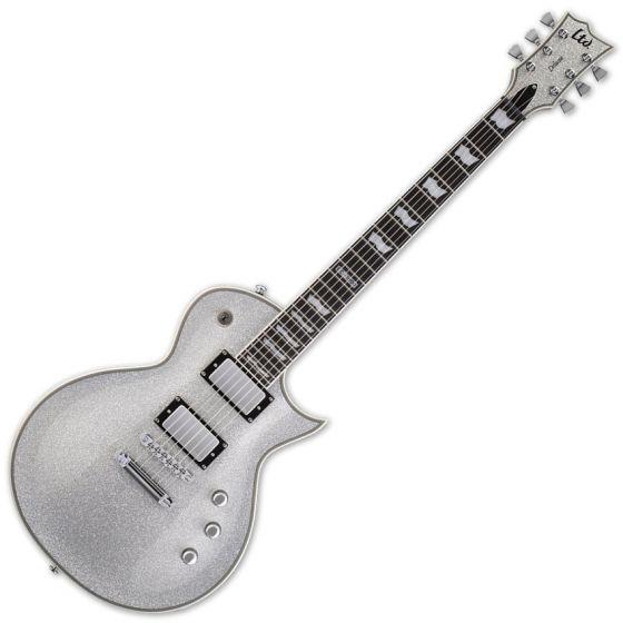 ESP LTD EC-1000 SSP Silver Sparkle Electric Guitar B-Stock sku number LEC1000SSP.B