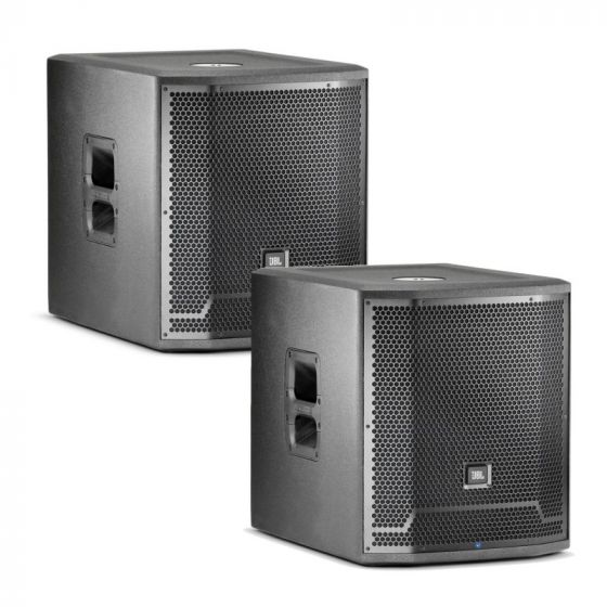 """JBL PRX715XLF 15"""" Self-Powered Extended Low Frequency Subwoofer System - Pair PRX715XLF.PAIR"""