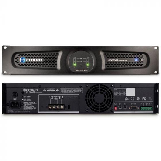 Crown Audio XLC 2800 Two-channel 800W Power Amplifier XLC2800