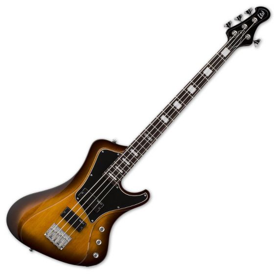 ESP LTD Stream-204 Electric Bass Guitar in Tobacco Sunburst sku number LSTREAM204TSB