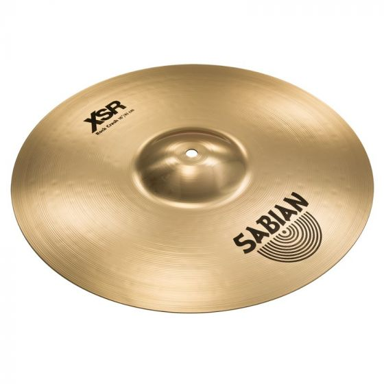 Sabian 16 Inch XSR Rock Crash Cymbal - XSR1609B XSR1609B