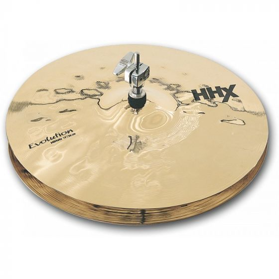 Sabian HHX Evolution Series Hi Hats 14 Inches - 11402XEB sku number 11402XEB