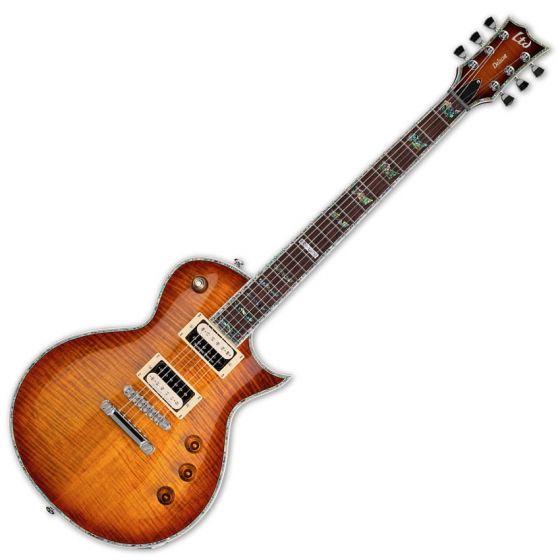 ESP LTD Deluxe EC-1000FM Duncan Amber Sunburst Guitar sku number LEC1000ASB