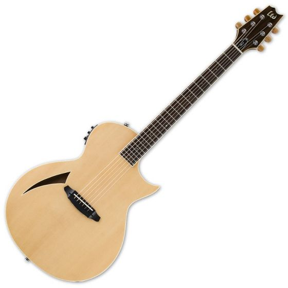 ESP LTD TL-6S Steel String Acoustic Electric Guitar in Natural Finish LTL6NAT