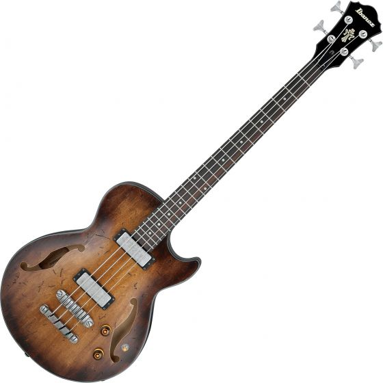 Ibanez Artcore Vintage AGBV200A Semi Hollow Electric Bass Tobacco Burst AGBV200ATCL