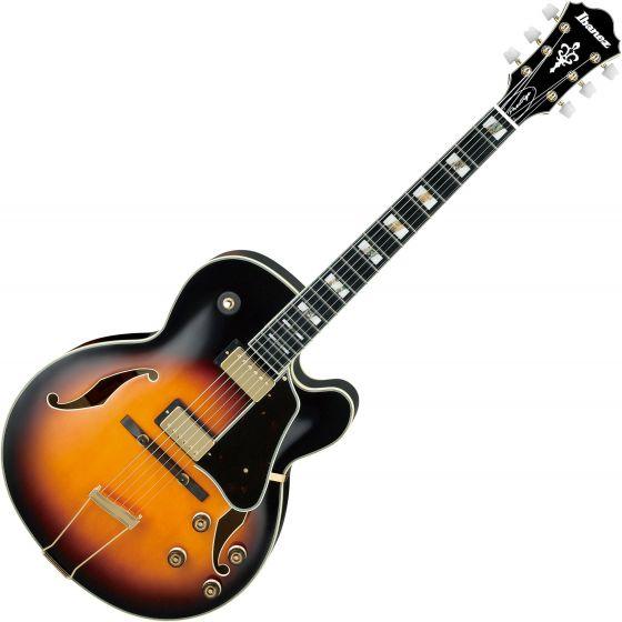 Ibanez Artstar Prestige AF200 Hollow Body Electric Guitar Brown Sunburst AF200BS